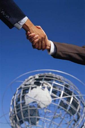 International Business Handshake