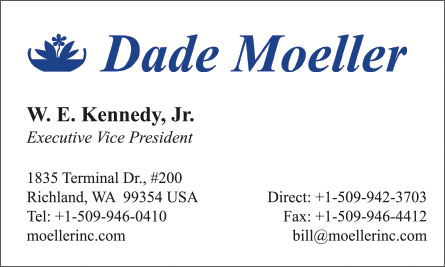 dade Arabic English Business Card Translation Sample