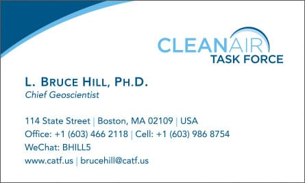 clean English Business Card Translation Sample