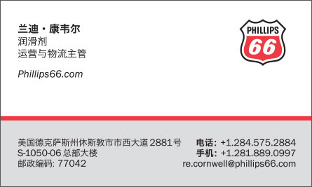 walmart Chinese Business Card Translation Sample