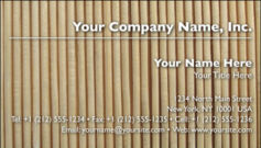 English Business Card Design Template: ABS0004
