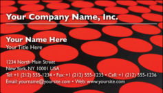English Business Card Design Template: ABS0005