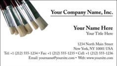English Business Card Design Template: ART0003