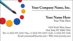English Business Card Design Template: ART0013