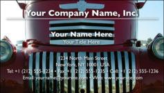 English Business Card Design Template: AUT0001