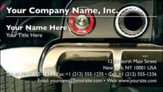 English Business Card Design Template: AUT0002