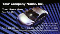 English Business Card Design Template: AUT0004
