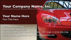 English Business Card Design Template: AUT0005