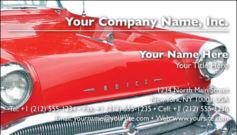English Business Card Design Template: AUT0006