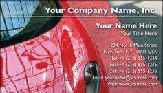 English Business Card Design Template: AUT0007