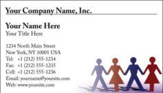 English Business Card Design Template: BIZ0003