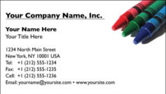 English Business Card Design Template: CLD0001