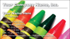 English Business Card Design Template: CLD0002