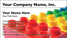 English Business Card Design Template: CLD0004