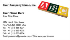 English Business Card Design Template: CLD0006