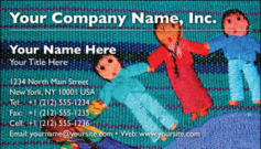 English Business Card Design Template: CLD0007