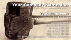 English Business Card Design Template: CON0002