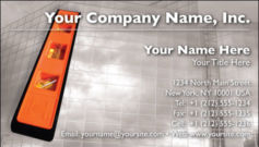English Business Card Design Template: CON0003