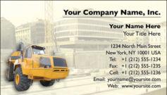 English Business Card Design Template: CON0008