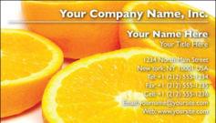 English Business Card Design Template: FDB0002