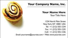 English Business Card Design Template: FDB0003