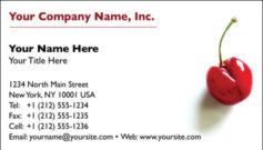English Business Card Design Template: FDB0004