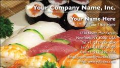 English Business Card Design Template: FDB0008