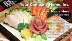 English Business Card Design Template: FDB0009