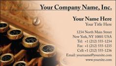 English Business Card Design Template: FIN0005