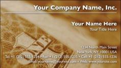 English Business Card Design Template: FIN0013