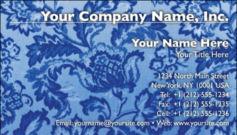 English Business Card Design Template: FLR0004