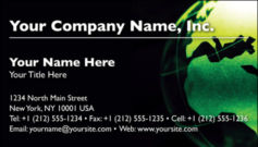 English Business Card Design Template: GBL0001