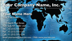 English Business Card Design Template: GBL0022
