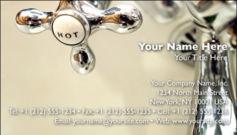 English Business Card Design Template: HMR0001
