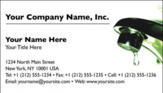 English Business Card Design Template: HMR0002