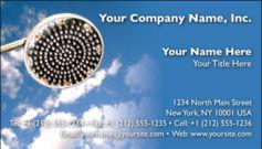 English Business Card Design Template: HMR0003