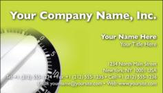 English Business Card Design Template: HMR0004