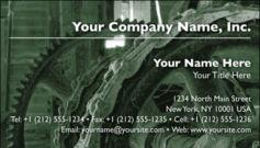 English Business Card Design Template: MAN0002