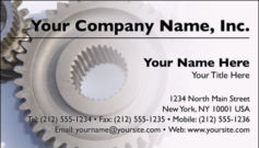English Business Card Design Template: MAN0003