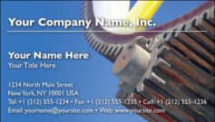 English Business Card Design Template: MAN0004