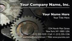 English Business Card Design Template: MAN0005