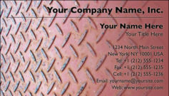 English Business Card Design Template: MAN0007