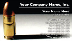 English Business Card Design Template: MIL0003