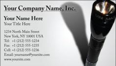English Business Card Design Template: SEC0001