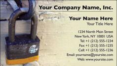 English Business Card Design Template: SEC0004