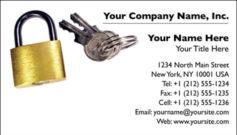 English Business Card Design Template: SEC0005