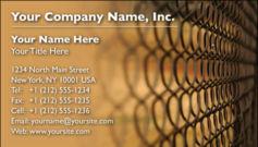 English Business Card Design Template: SEC0006