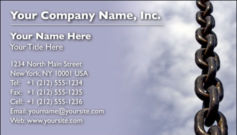 English Business Card Design Template: SEC0007