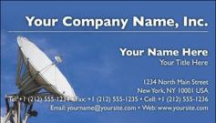 English Business Card Design Template: TEC0008