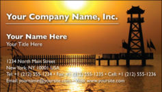 English Business Card Design Template: TRA0007